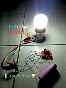 Joule Thief mini Inverter