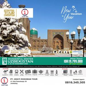 New Year  Vacations in UZBEKH
