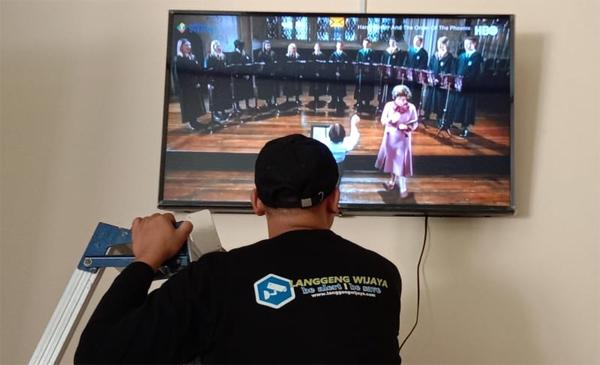Pasang dan Install MATV Parabola Digital di Bogor